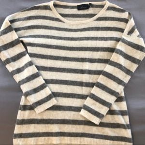 Striped Cashmere Sweater by Line and Dot - Medium